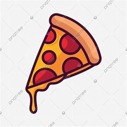 Pizza Svg Cartoon Icon Transparent Clipart Drawn