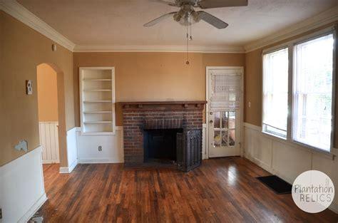 brick cottage  living room
