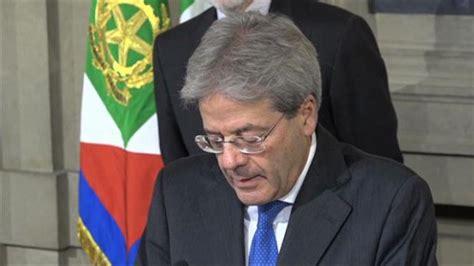 Decreto Presidente Consiglio Dei Ministri by Gentiloni Firma Il Decreto Per La Zona Economica Speciale