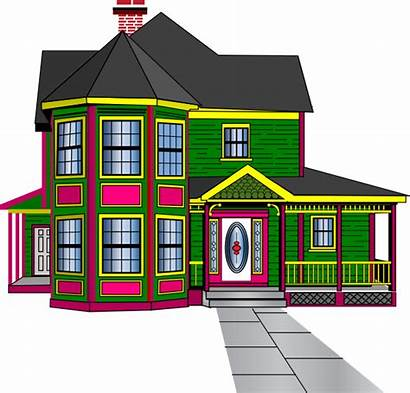 Clipart Townhouse Guest Clip Boarding Vector Cliparts