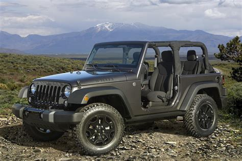back of a jeep 2014 jeep wrangler willys wheeler edition goes back to the