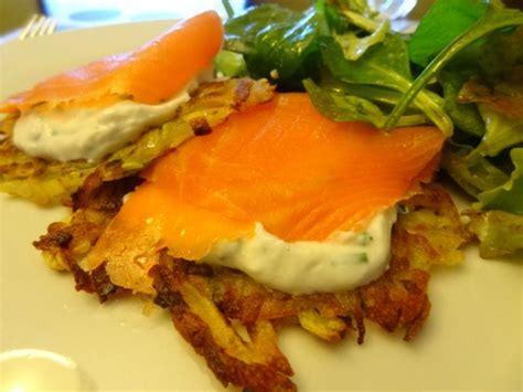 cuisine simple 67 röstis de pommes de terre ricotta saumon fumée la cuisine de nelly