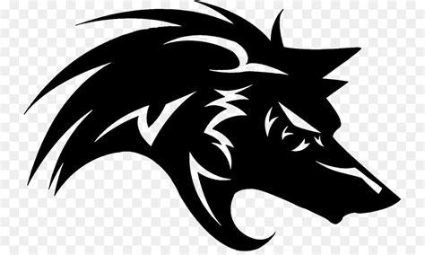 Gray Wolf Black Wolf Logo
