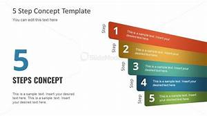 Free Powerpoint Five Step Concept