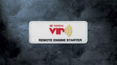 Toyota Remote Start Oem Genuine Parts