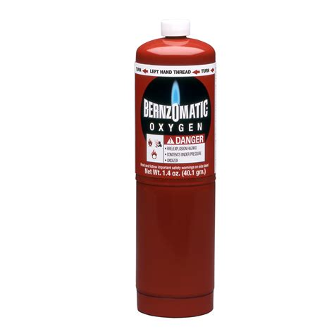 Bernzomatic Patio Heater Does Not Light by Shop Bernzomatic 174 1 4 Oz Oxygen Fuel Cylinder At Lowes