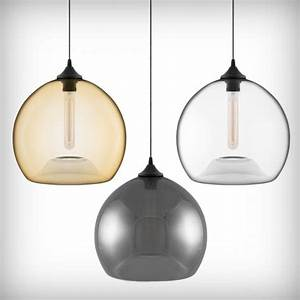Edison bulbs glass pendant lights pendants