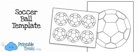 printable soccer ball template printable treatscom