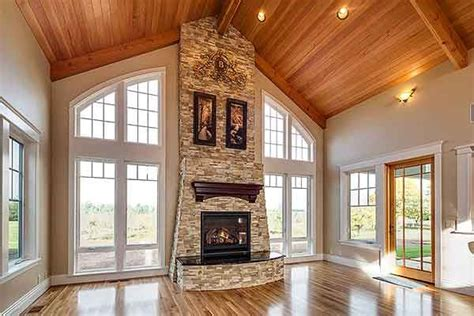 rugged house plan da vaulted great room aptly