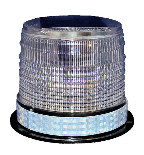 s8lm clear solar led large beacon marine dock