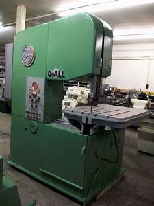 26 U0026quot  Vertical Band Saw  Doall  Model 26