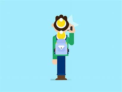 Magnusson Markus Motion Animated Illustrations Giphy Animation