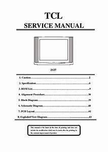 Tcl 2127 Sm Service Manual Download  Schematics  Eeprom  Repair Info For Electronics Experts