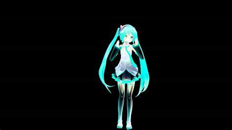 Mmd Hatsune Miku Sayonara Goodbye Hologram Reay