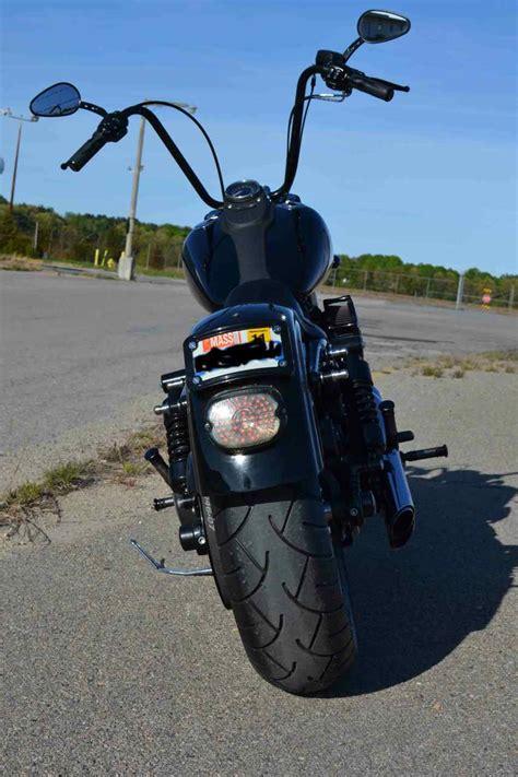 smaller rear signals   street bob harley davidson