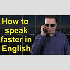 How To Speak Faster In English  Learn English Live 15