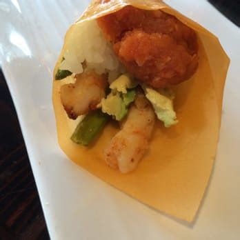 sake   sushi tiger shrimp handroll tustin ca