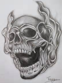 Smoke Skull Tattoo Designs