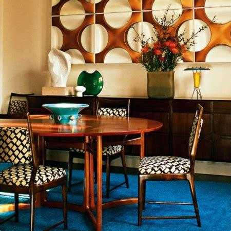 Modern Retro Dining Room  Red Online