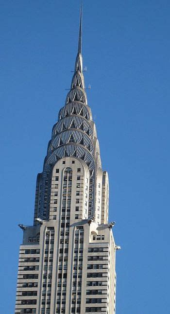 History Of The Chrysler Building by Deco Architecture Characteristics History