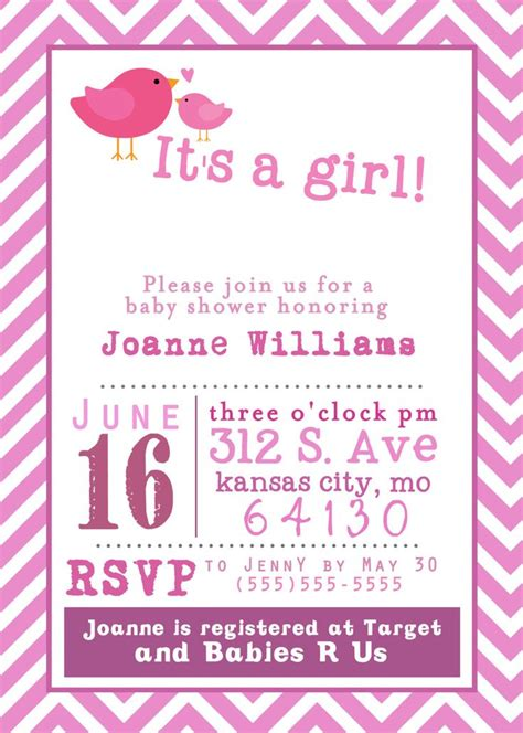 stunning  printable baby shower invitations