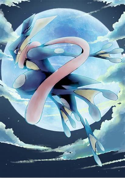 Greninja Pokemon Zerochan Ash Ninja Fanart Wallpapers