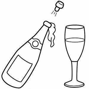 Champagne Bottle Clip Art - Cliparts.co
