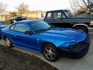 4th gen blue 1998 Ford Mustang V6 5spd manual For Sale - MustangCarPlace