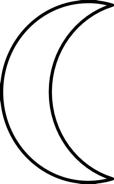 Crescent Moon Clip Art at Clker.com - vector clip art