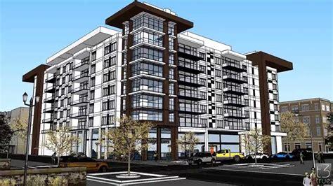 architect floor plans modern condominium design concept made in sketchup