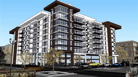 Modern Condominium Design Concept made in Sketchup   YouTube