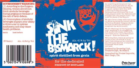 brewdog sink the bismarck brewdog sink the bismarck tactical nuclear penguin on