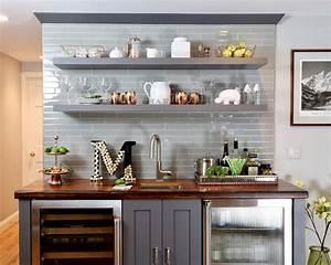 20, Inspiring, Floating, Kitchen, Shelves, Design, And, Decoration, Ideas