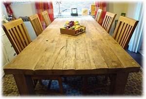 Rustikale Esstische Holz : tisch esstisch teak 240cm extra schwere rustikale art ~ Michelbontemps.com Haus und Dekorationen