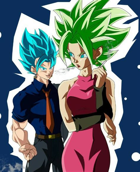 Kefla Y Vegetto Dragon Ball Franchise Dragon Ball Dragon Ball Z Y Fan De Arte