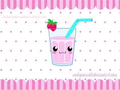 Cute Milkshake By Antiquesohl On Deviantart