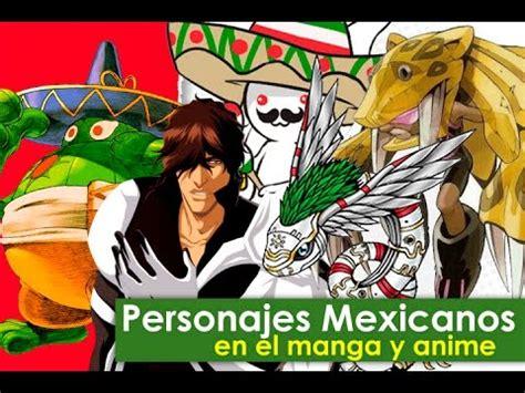 PERSONAJES MEXICANOS EN VIDEOJUEGOS Y ANIME YouTube
