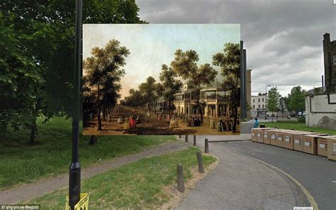 Thackeray Vanity Fair by Google Street View In The 18th Century How Our Streets