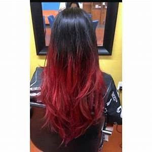 Best 25 Black And Red Ombre Ideas On Pinterest Red