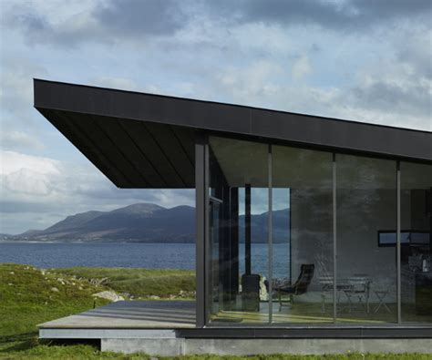 small a frame cabin plans modern cottage design a contemporary sea side hide away in ireland