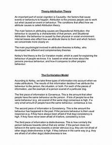 Essay With Thesis Statement Example Attribution Theory Essay Plant Business Essay Writing Service also How To Write Proposal Essay Attribution Theory Essays Eating Disorders Essay Attribution Theory  English Essay