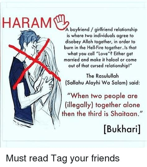 Girlfriend And Boyfriend Memes - a boyfriend girlfriend relationship is where two individuals agree to disobey allah together in