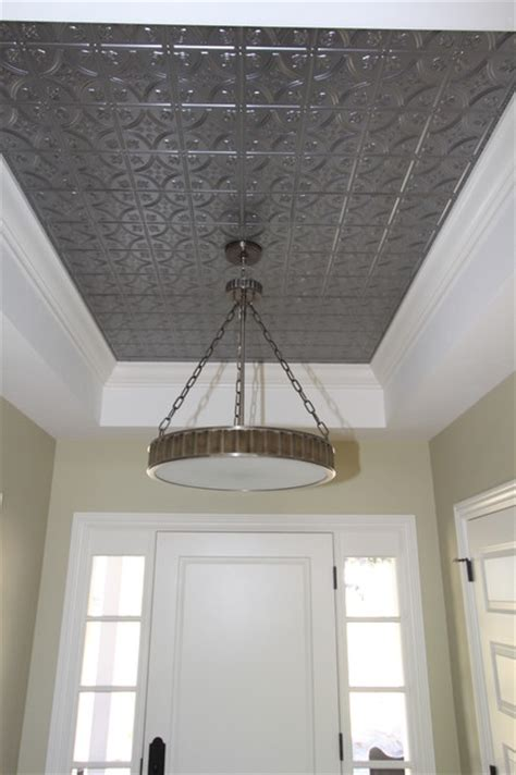 Metal Tile Ceiling by Tin Ceiling Tiles