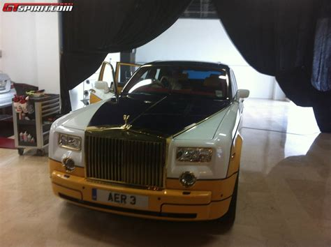 plated rolls royce gold plated rolls royce ghost by cohen cunild spotted