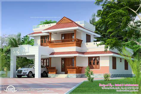 beautiful kerala home   sqfeet house design plans