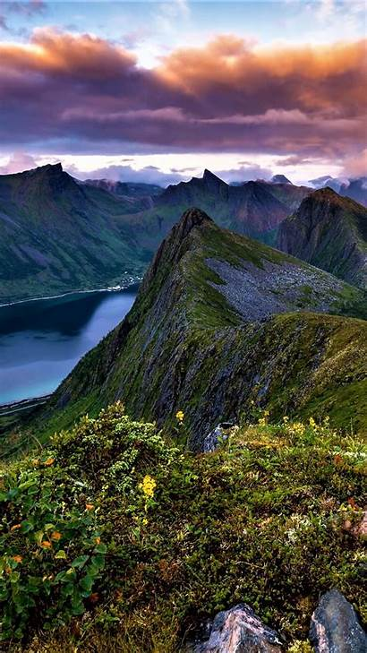 Landscape Portrait Norwegian Wallpapers Backiee Background