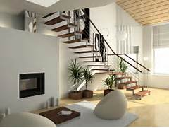 Modern Staircase Design Picture How To White Wall Paint Staircase With Handrails Home Interior Design