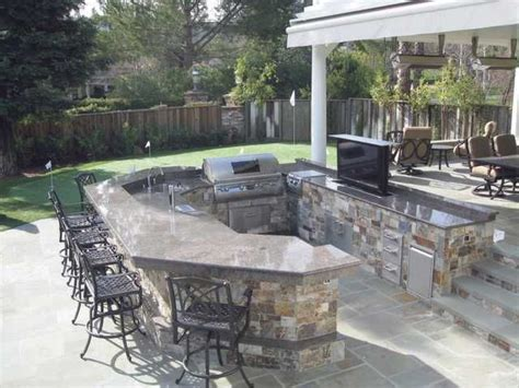 Backyard Built by A Built In Bbq Island Home Obituaries Ask The