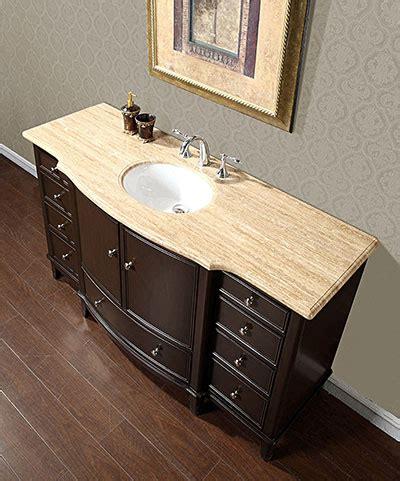 60 inch vanity cabinet single sink silkroad 60 quot floating single sink bathroom vanity espresso