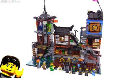 lego ninjago city docks review  youtube